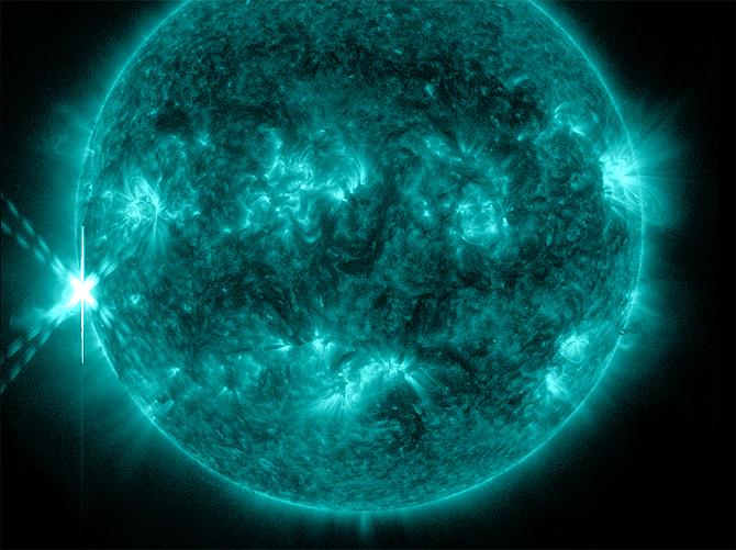 Рентгеновский выброс на Солнце