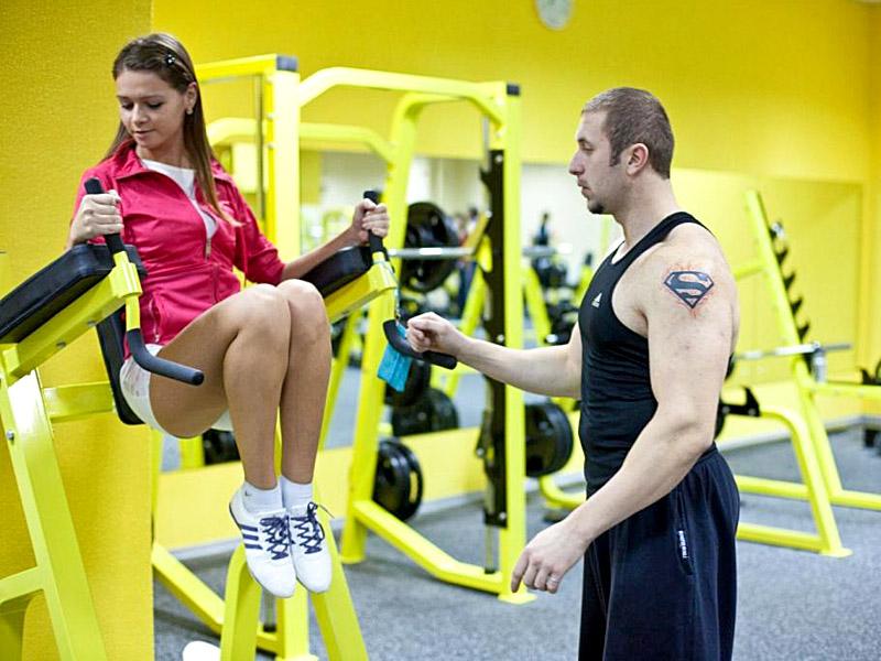центре фитнес знакомство в