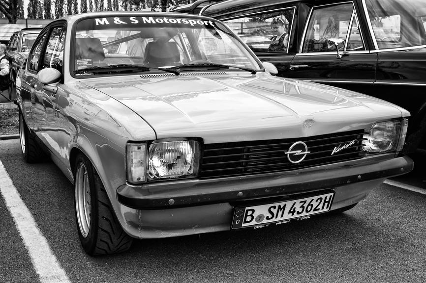 Opel любят художники