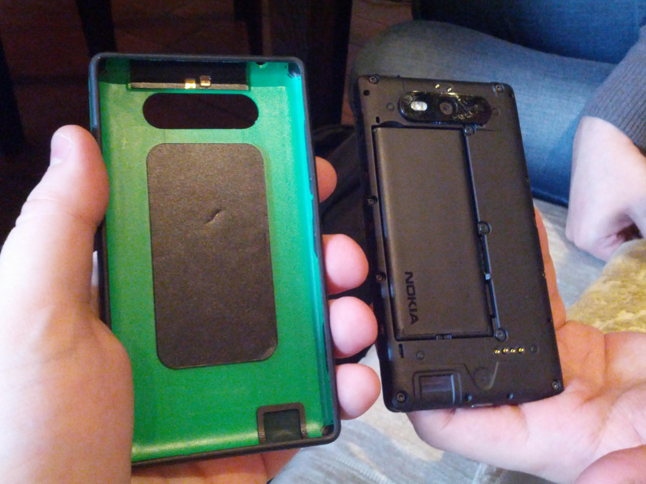 Сменная панелька Nokia Lumia 820
