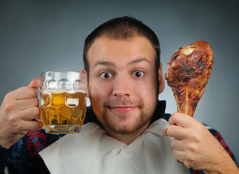 Пиво и мясо - мужское меню на День Валентина