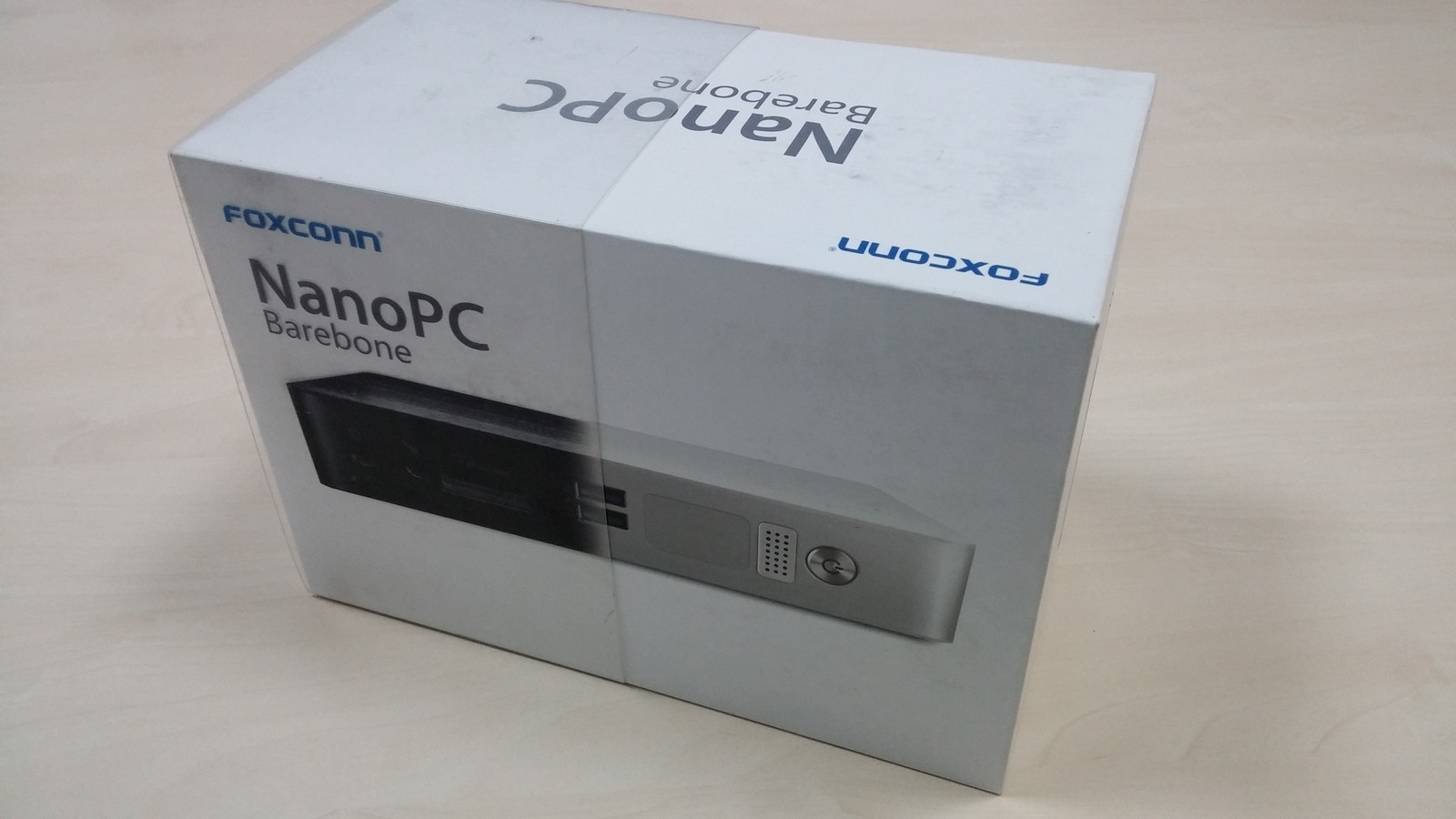 Foxconn NanoPC Barebone AT-7300 Black