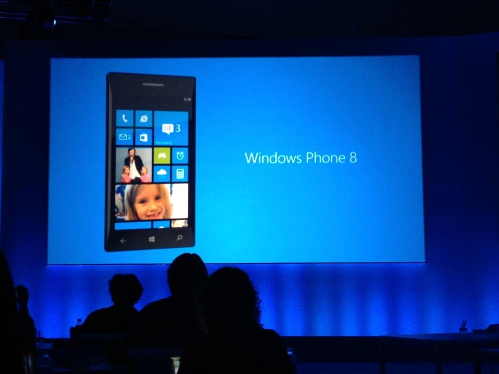 Windows Phone 8 увидит свет в этом месяце
