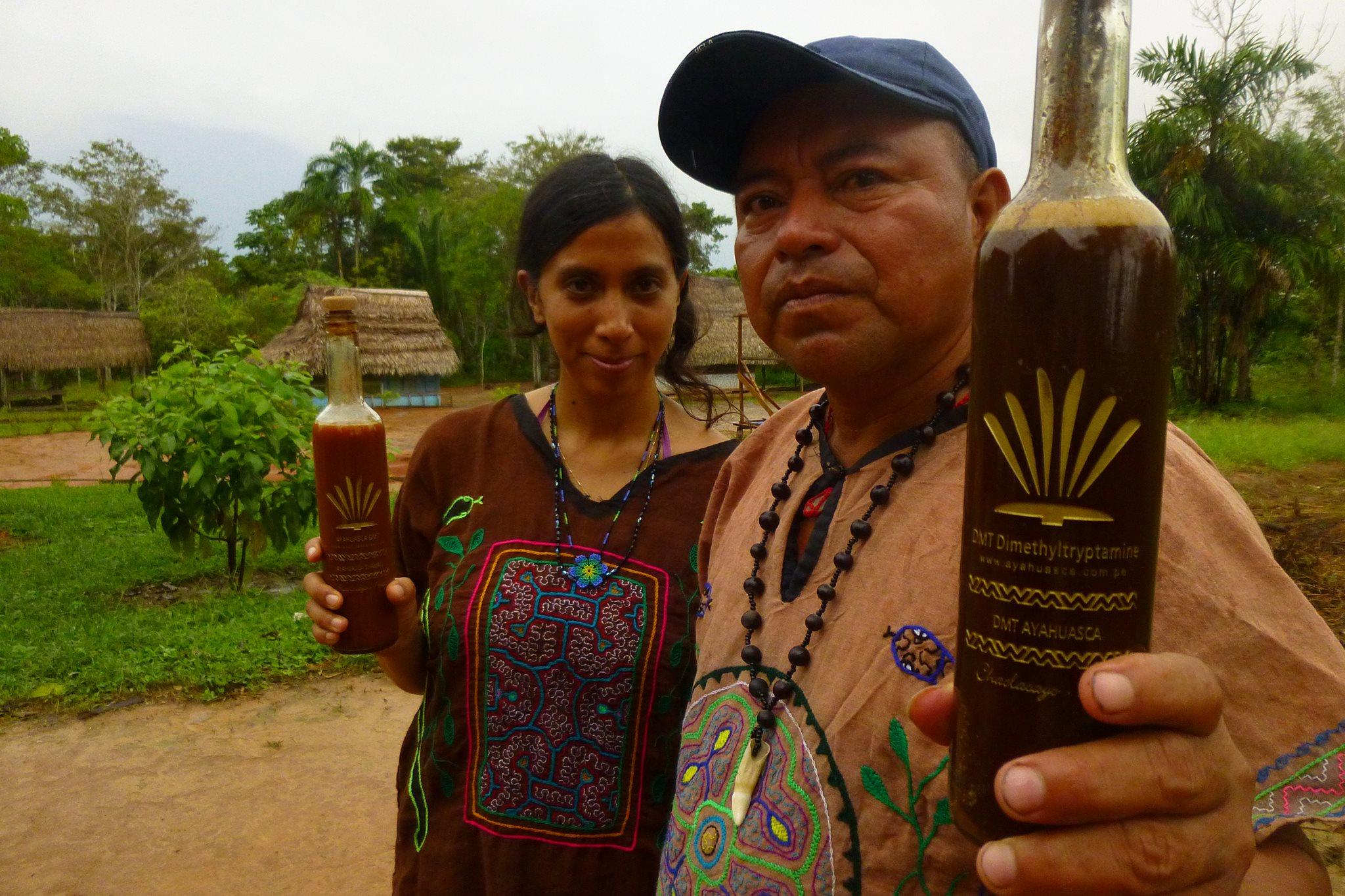 Ayawaska - амазонское спиртное, которое способно