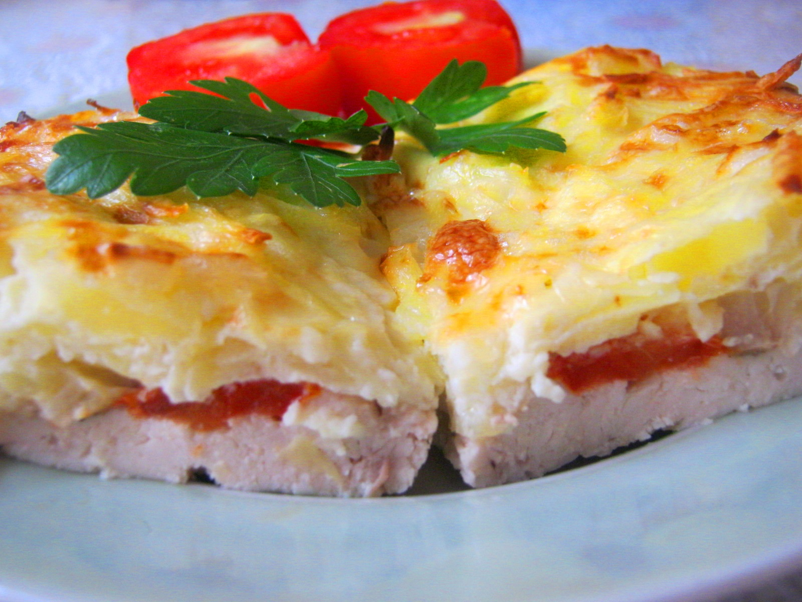 рецепты из тертой картошки в духовке