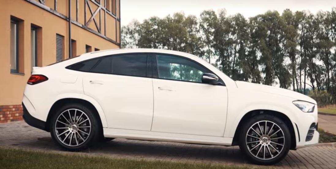 В Украине прошла презентация Mercedes-Benz GLE Coupé