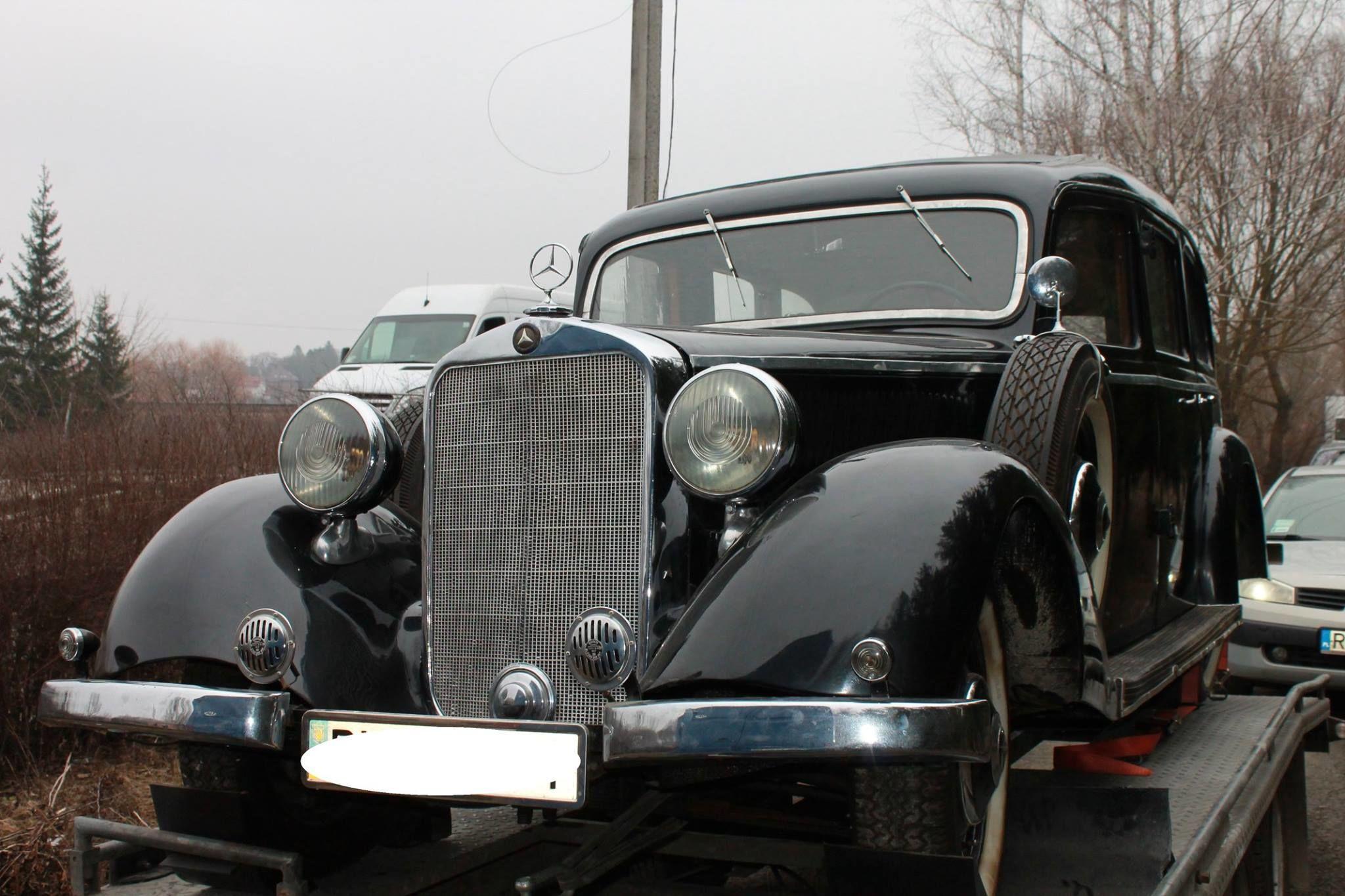 Автомобиль прошел перерегистрацию в Хмельницком