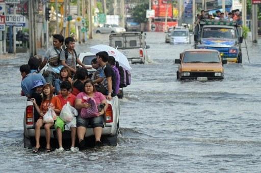 Таиланд ушел под воду
