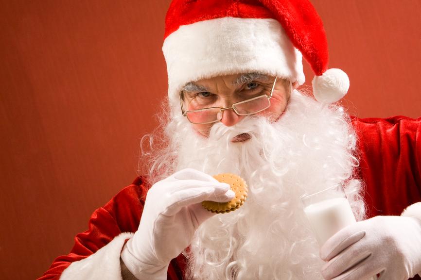 На новогодние и рождественские праздники держись подальше от сладкого