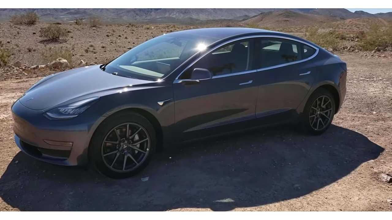 Tesla Model 3 Standard Range Plus самая энергоэффективная модель на шоссе