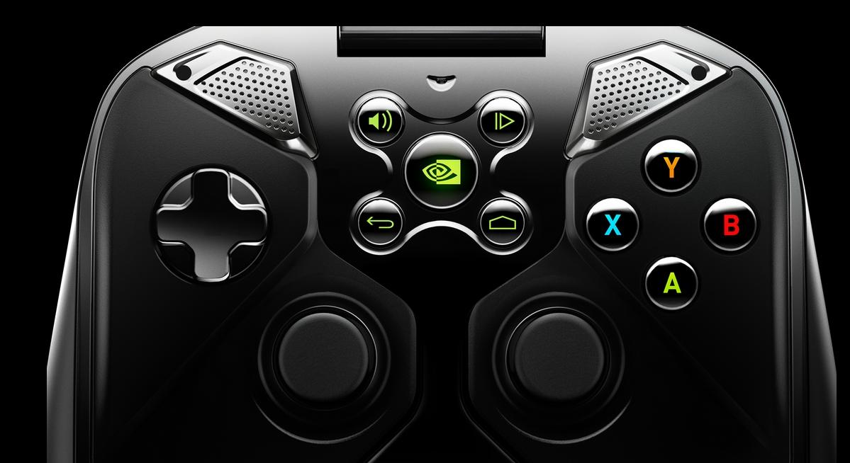 Расположение кнопок напоминают геймпад Xbox 360