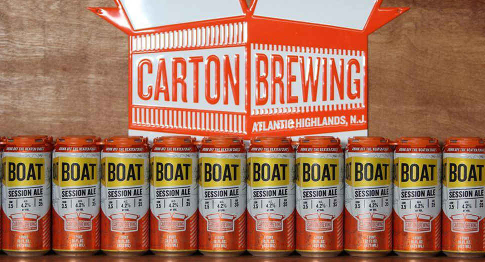 Carton Boat Beer