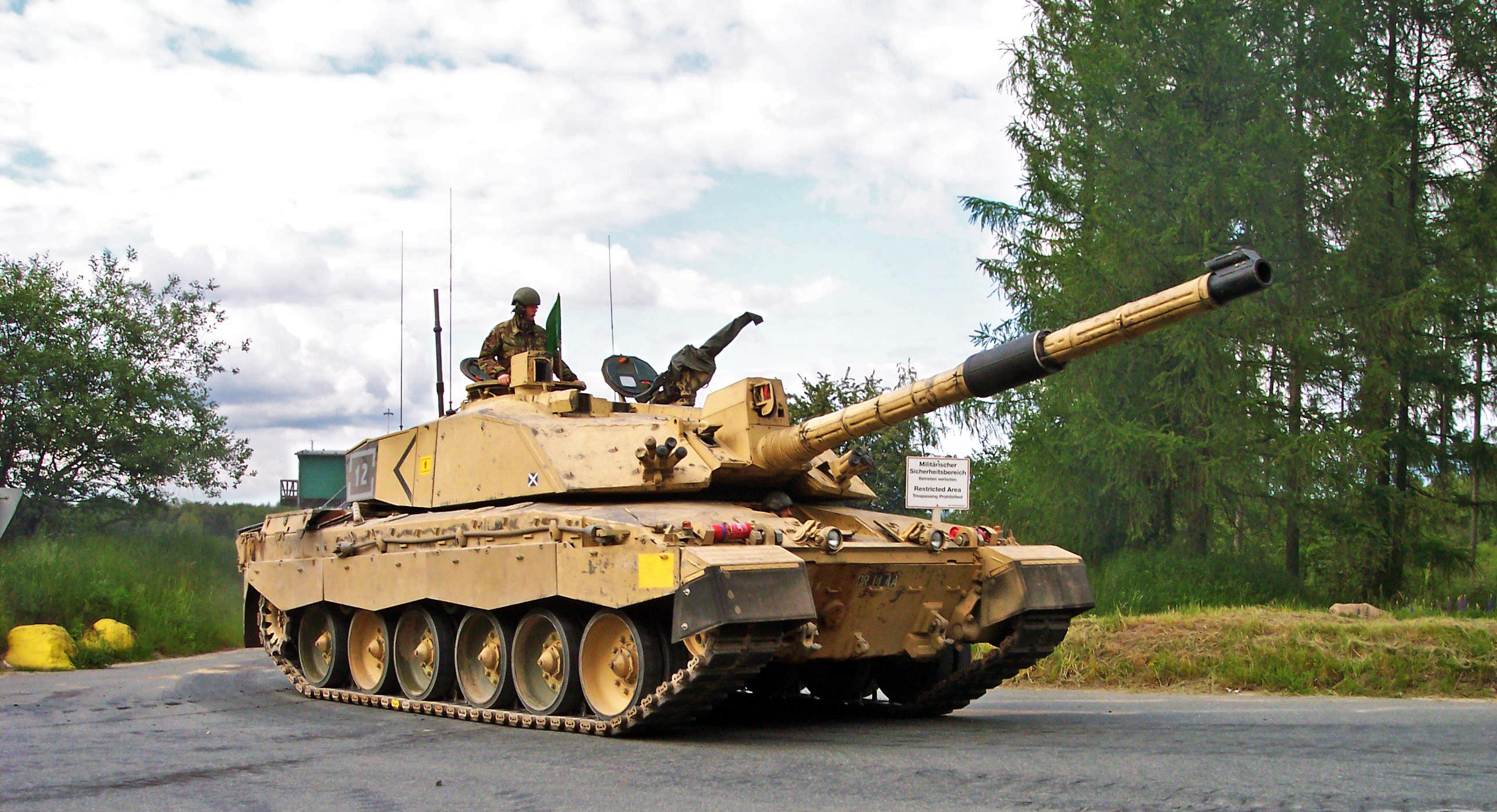 Британский Челленджер может попасть в Красную книгу танков