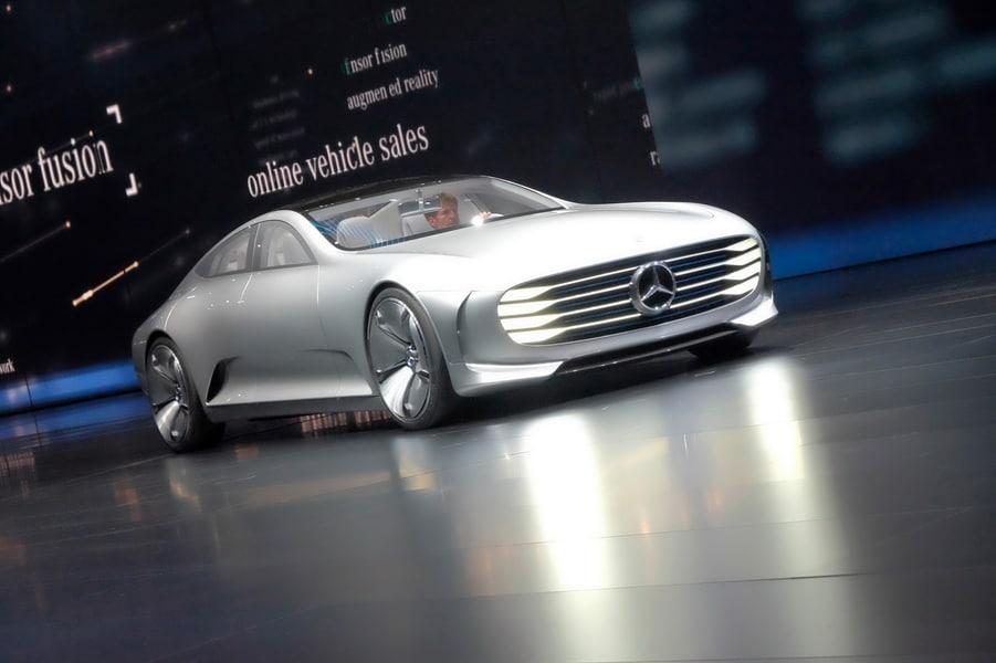 Concept IAA. Новый седан от Mercedes-Benz