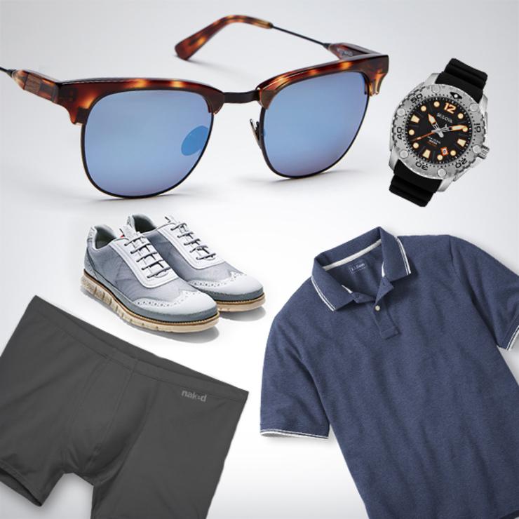 Легкая обувь, одежда из дышащей ткани, и крутые аксессуары помогут тебе стильно выглядеть в жаркие дни