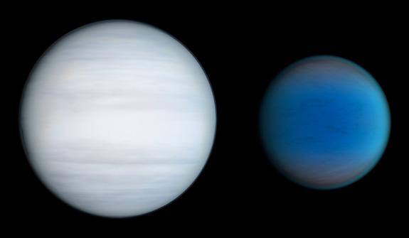 Две планеты в сравнении