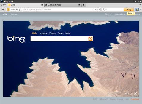 Скриншот новой версии Firefox