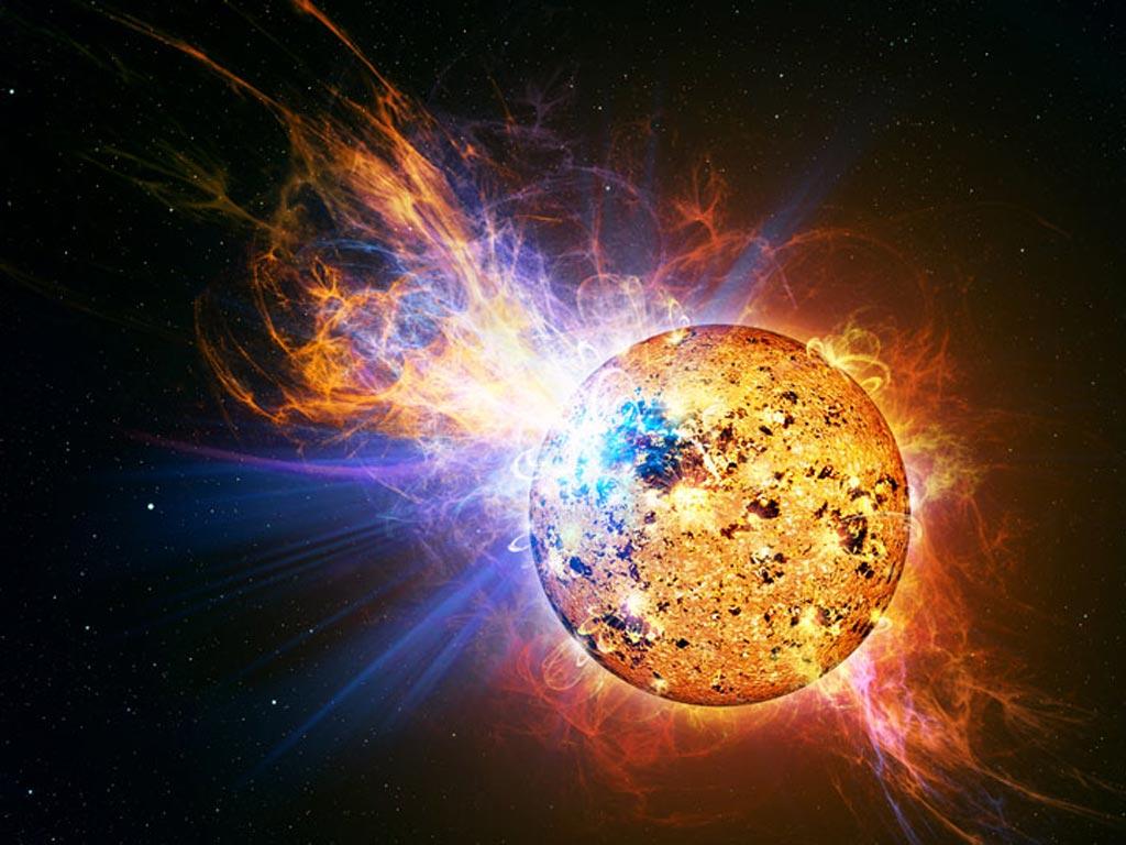 Вспышка на Солнце могла уничтожить всю инфраструктуру на Земле