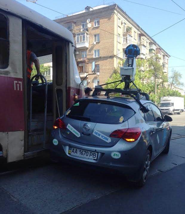 Автомобиль пострадал не сильно