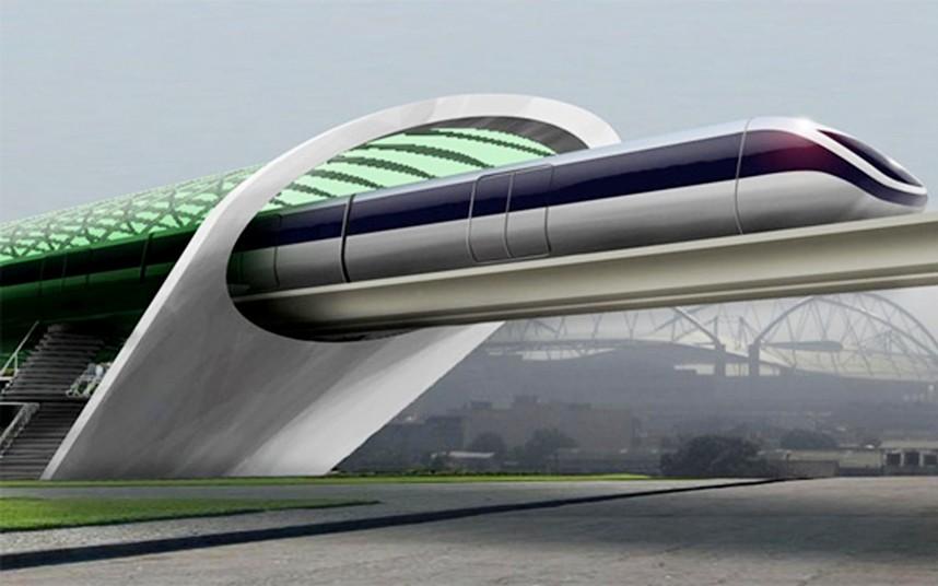 Поезда Hyperloop смогут разгоняться до 1 220 км/ч