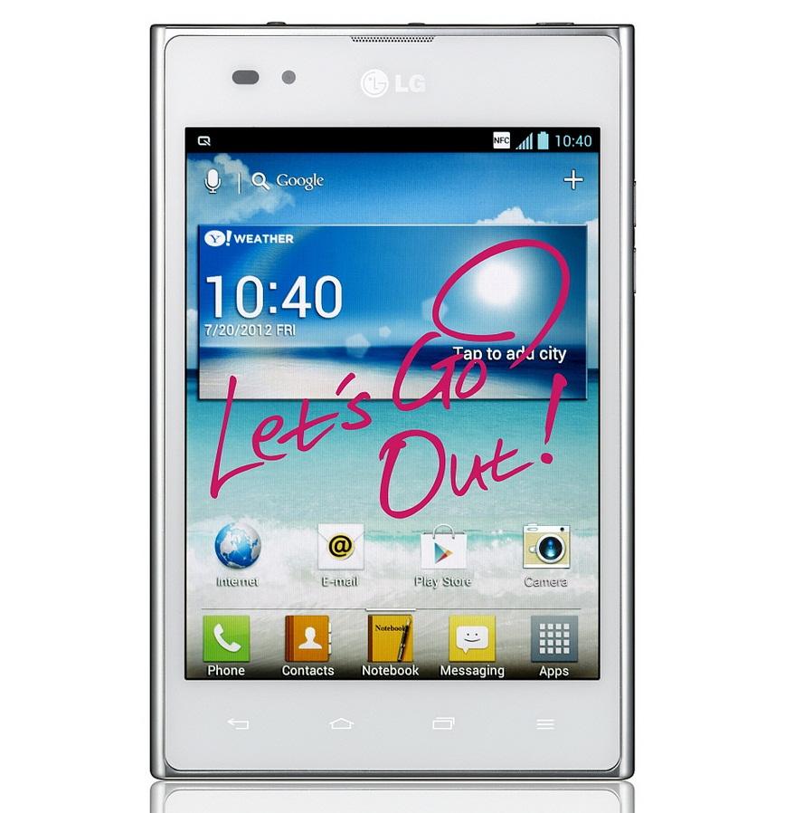LG Optimus Vu в Украине