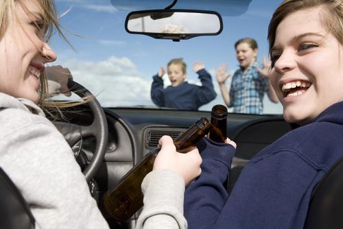 удочкой за рулем