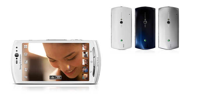 Новый смартфон Xperia Neo V