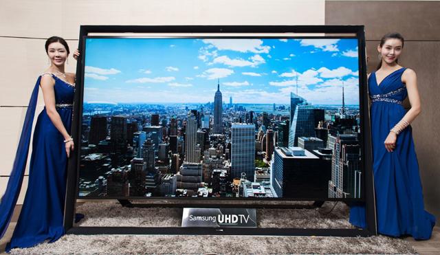 Samsung покажет самый большой 4K-телевизор в январе