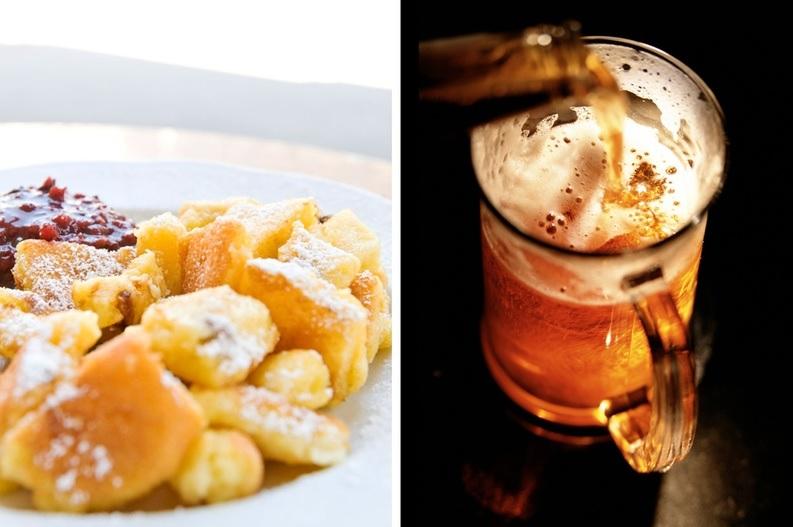 Морепродукты и салаты лучше всего сочетаются с элем из светлого солода