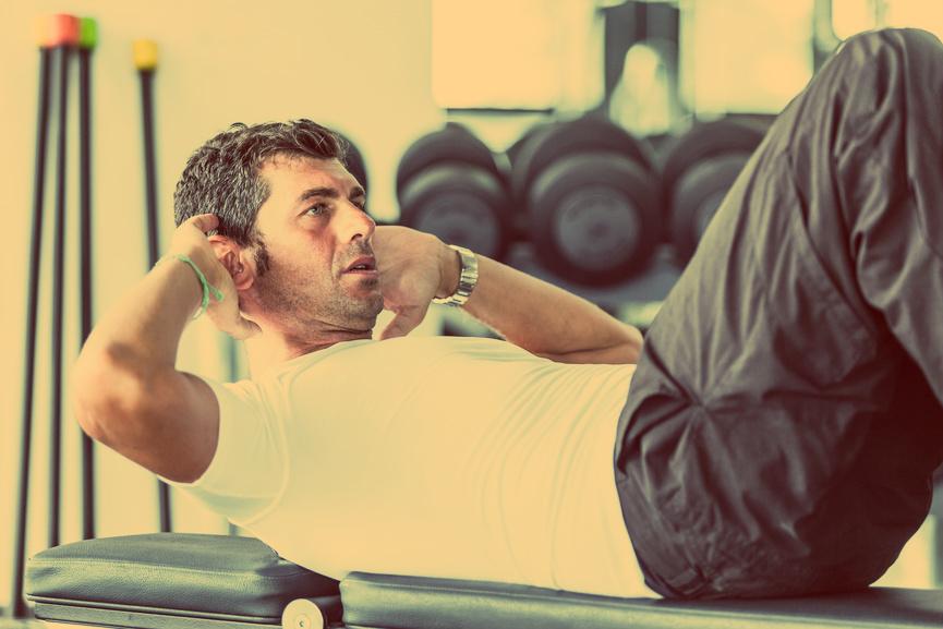 Упражнения для пресса - безжалостный враг твоего брюха