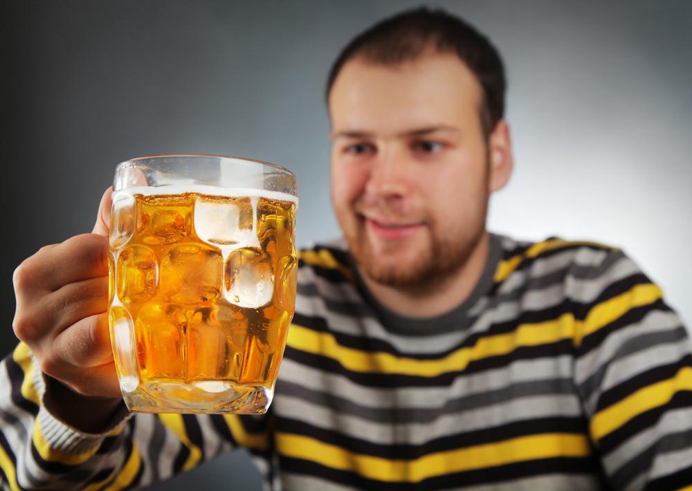 Пиво снижает активность мозга