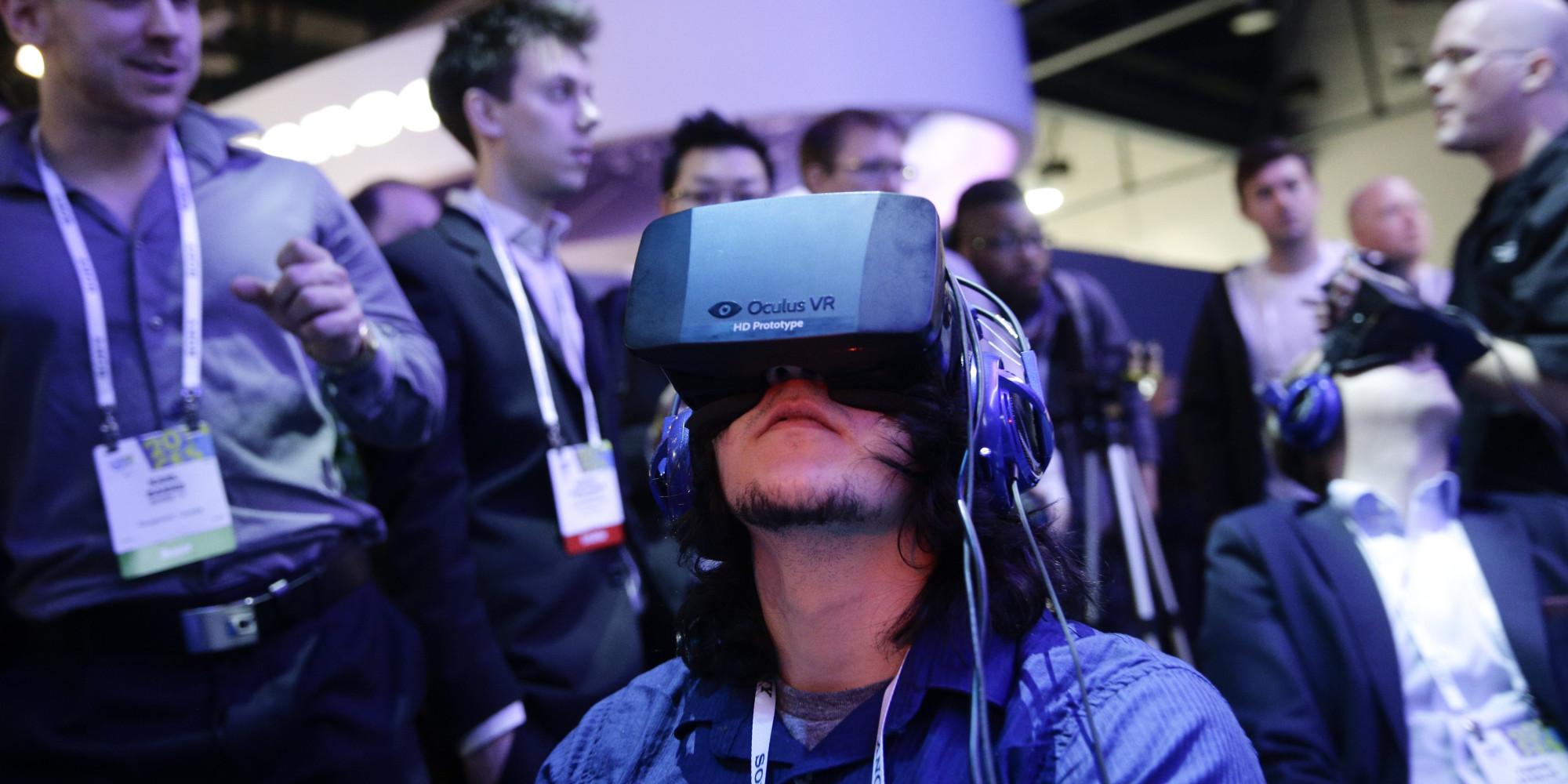 Oculus Rift будут использовать для коммуникаций