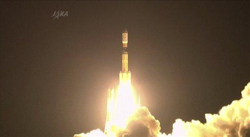 Запуск робота в космос прошел сегодня в 4:48