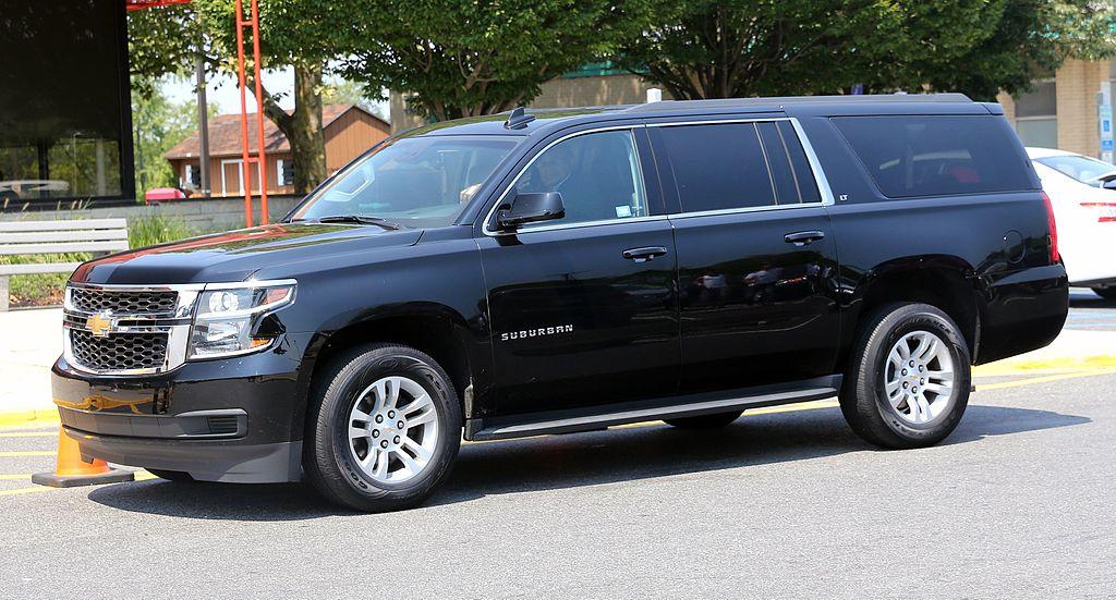 Chevrolet Suburban (5.2% автомобилей с пробегом более 300 тыс. км.)