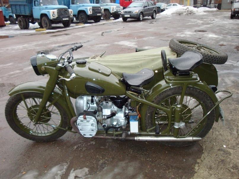 Технические характеристики мотоцикла Урал М72М