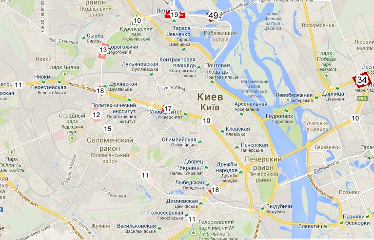 Транспорт Петербурга Как проехать по Петербургу