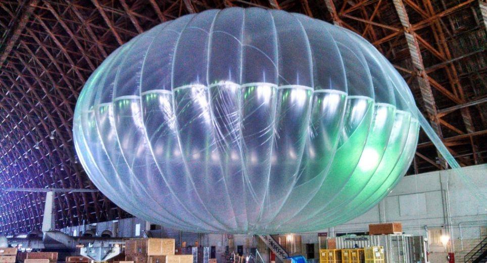 Каждый 15-метровый шар покрывает зону диаметром 40 км.