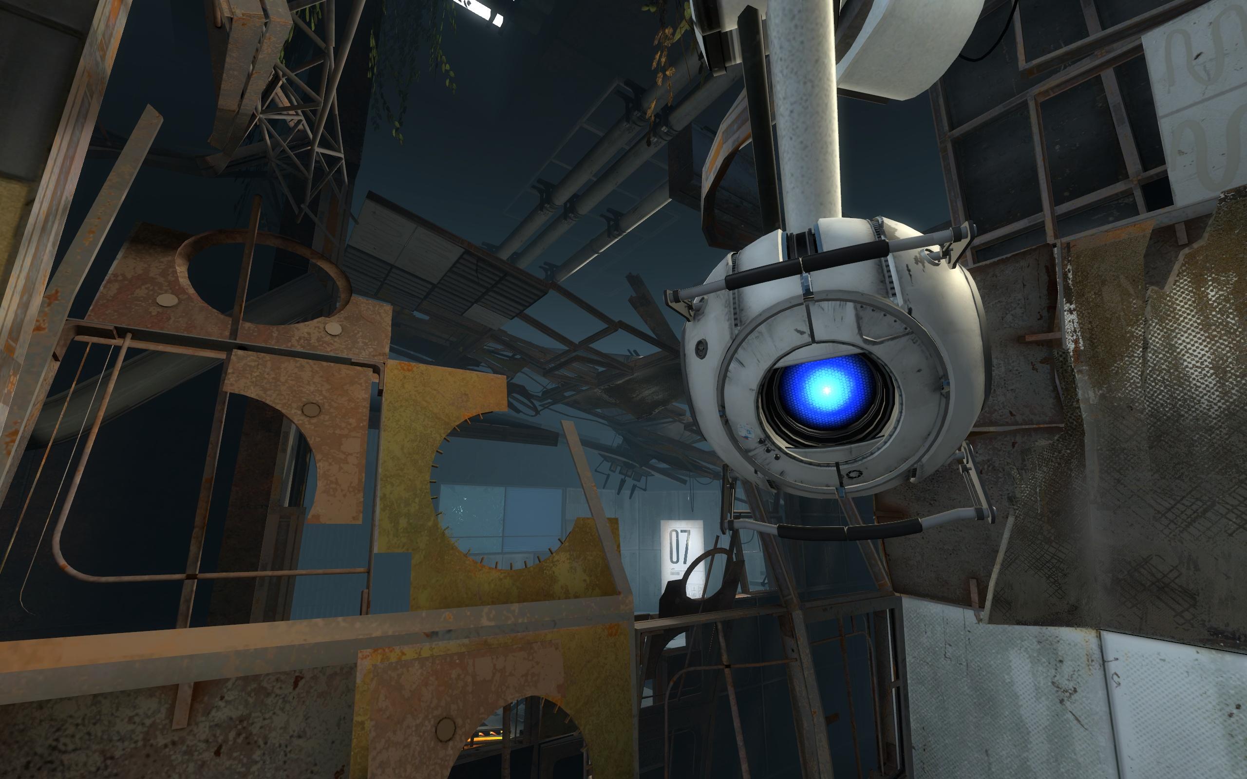 Робот-шар был озвучен Стивеном Мерчантом