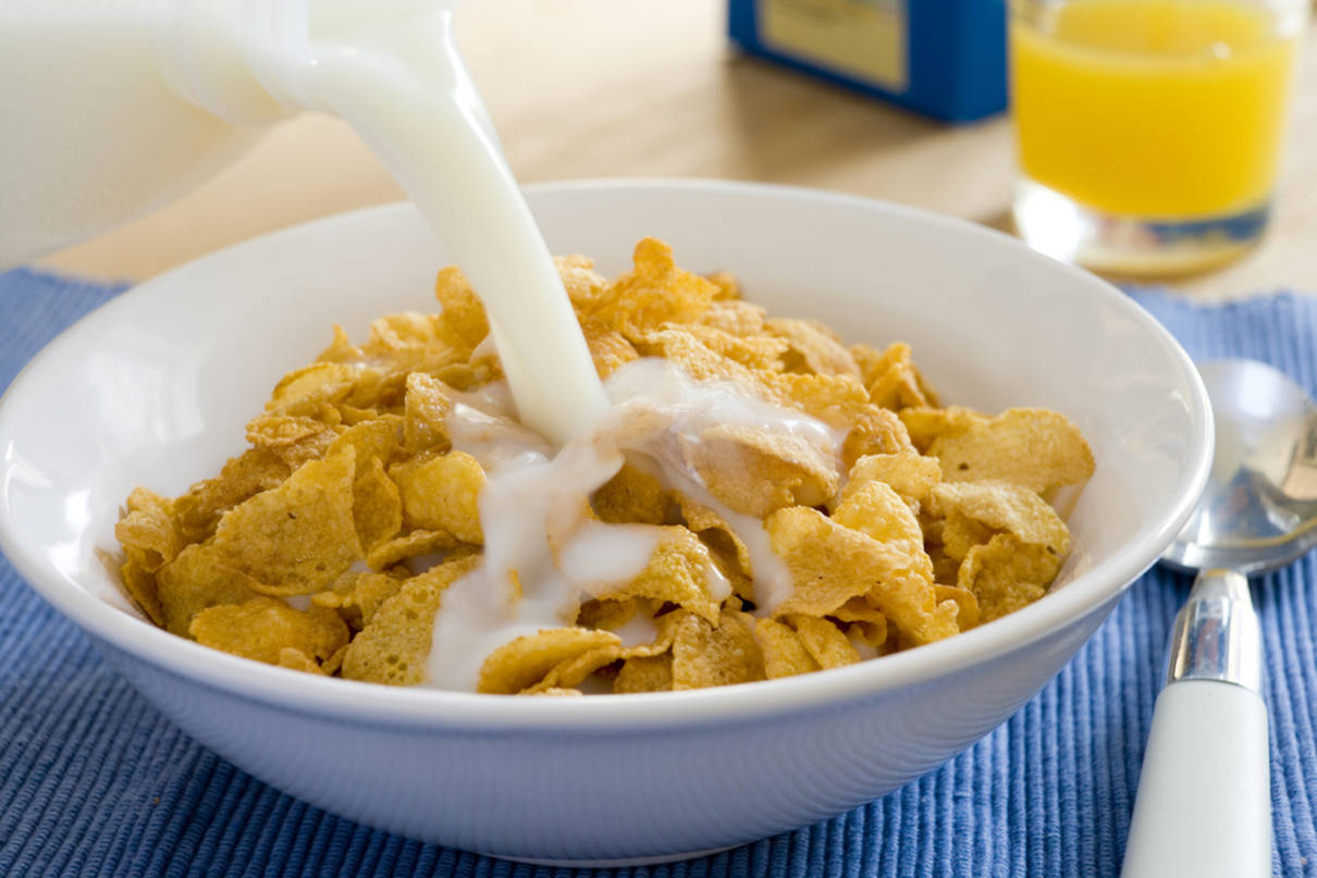диета на хлопьях с молоком