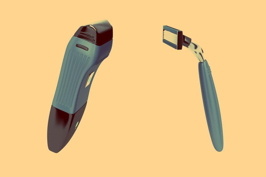 Как считаешь, чем бриться безопаснее?