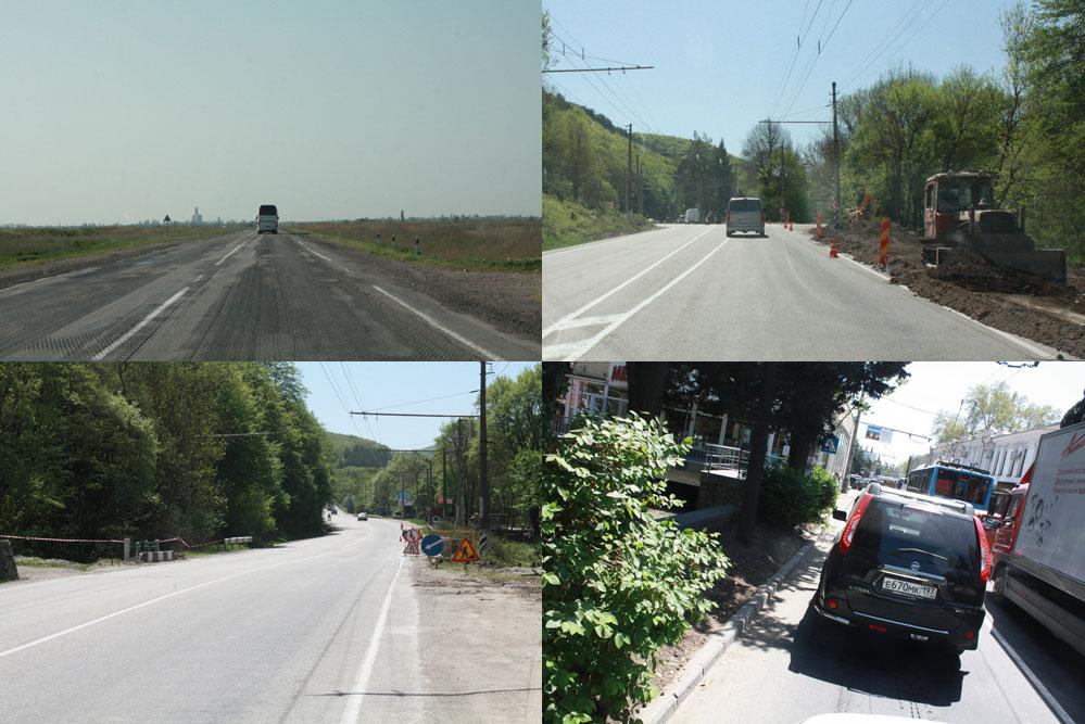 Крым - проблемы есть, но в целом дороги неплохие