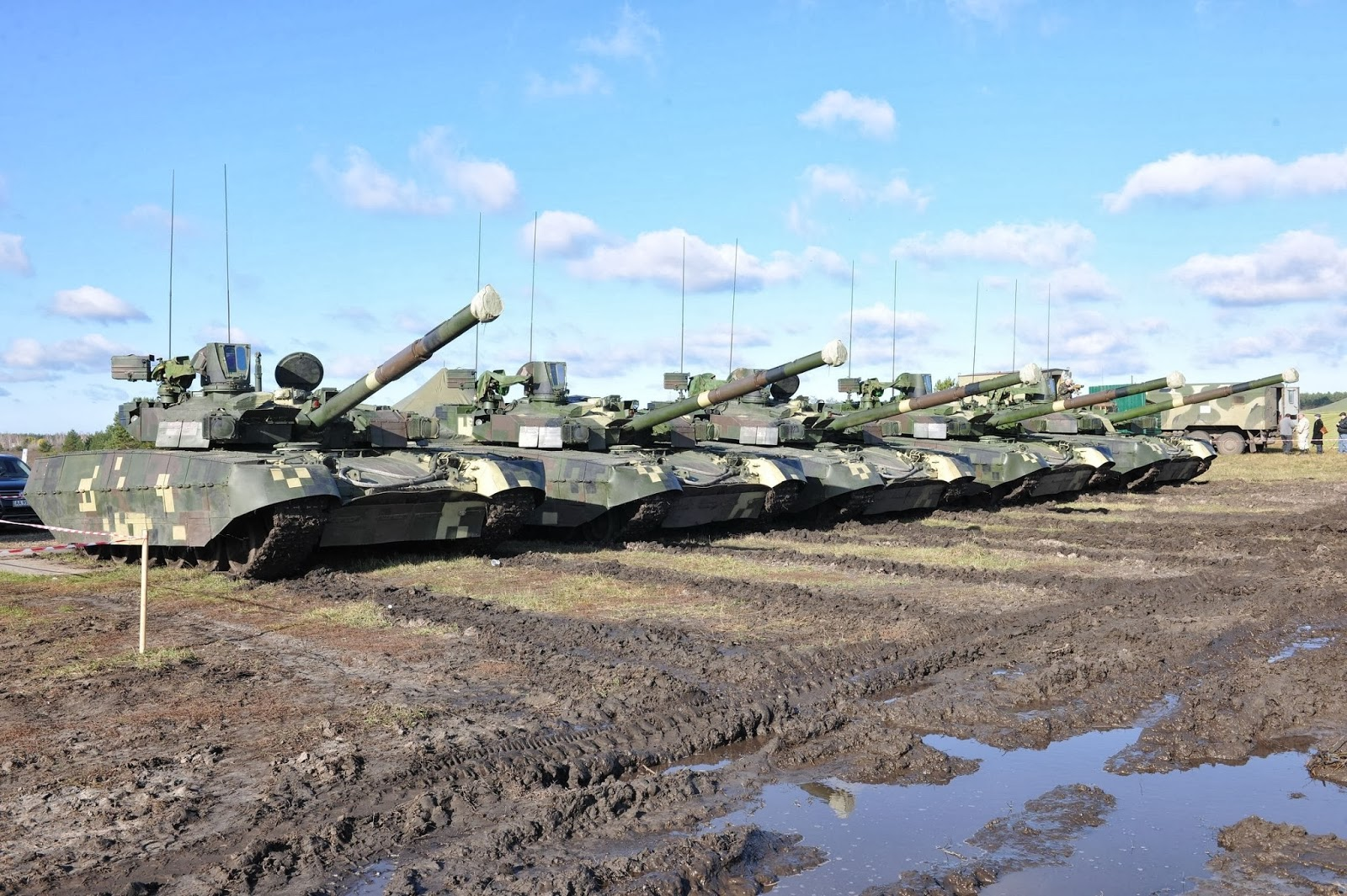 Т-84 Оплот признан одним из лучших танков во всем мире