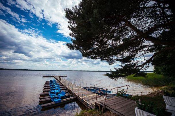 Белое озеро славится мягкостью своей воды