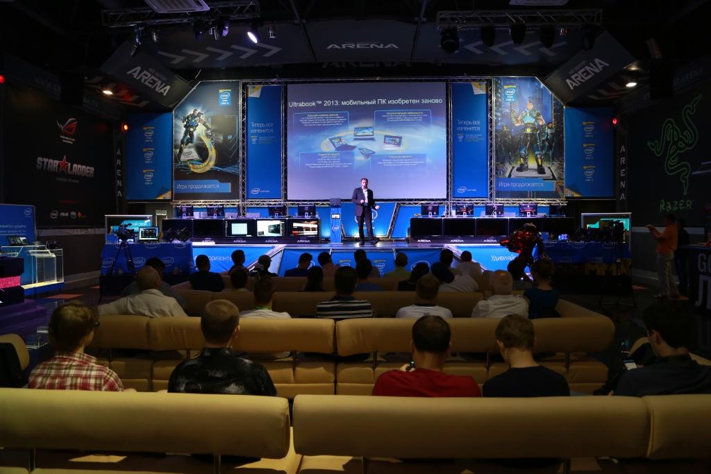 Представление прцоессоров Intel Haswell в Украине
