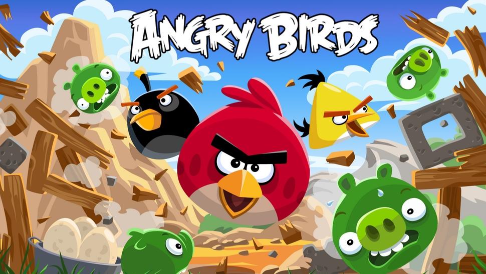 Angry Birds - одна из самых успешных мобильных игр в истории