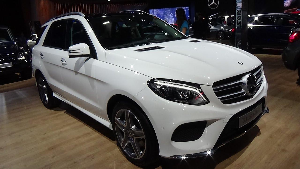Mercedes-Benz GLE 350D 2017 года