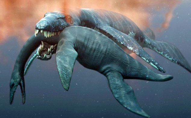 Страшный динозавр был не таким уж страшным