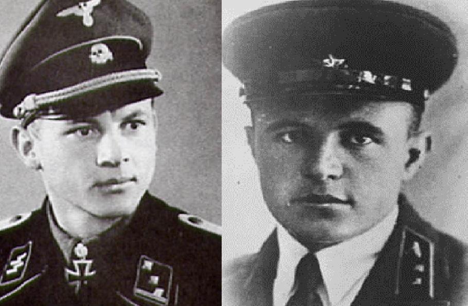 Слева направо: Михаэль Виттман и Дмитрий Лавриненко