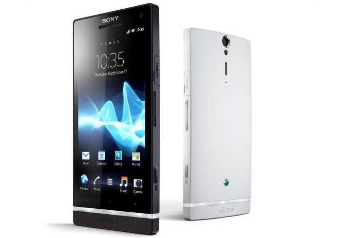 Смартфон Xperia S — первый в линейке телефонов Sony