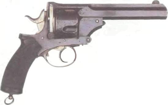 Британцы в XIX столетии заряжали револьверы пулями от винтовок